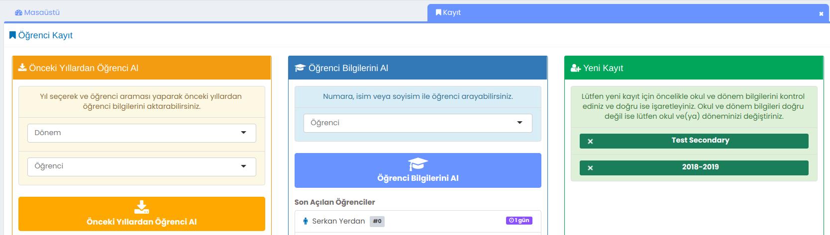 SmartClass Enrollment